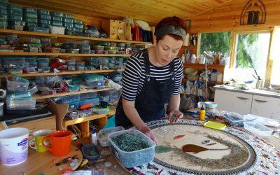 Exploring Grown-up Creativity: Mosaic