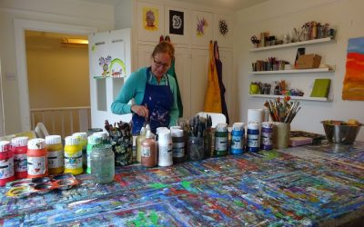 Exploring Grown-up Creativity: Art For Art's Sake
